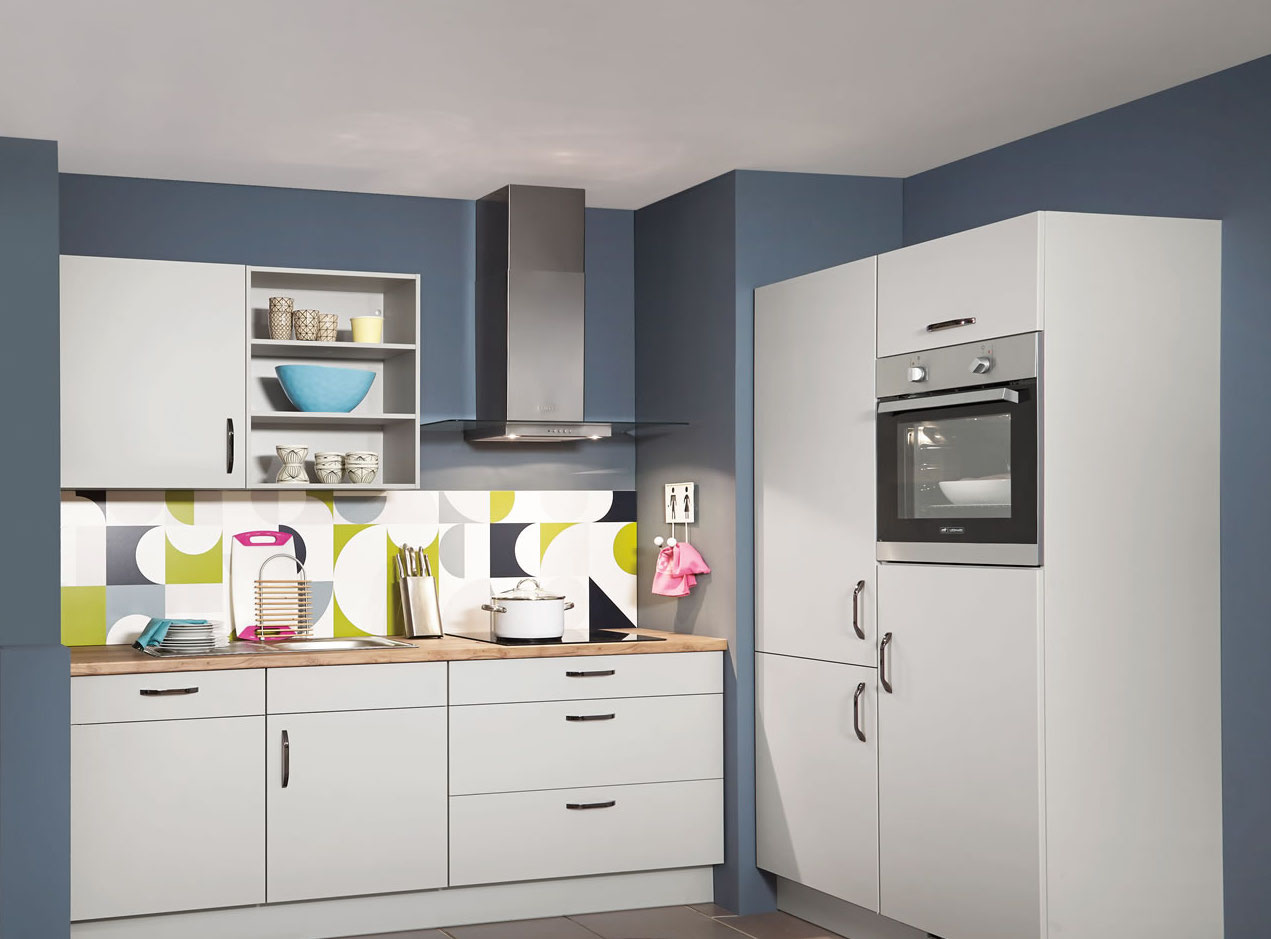 Modern kitchens fully fitted kitchens glasgow for Contemporary fitted kitchens